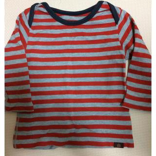 タケオキクチ(TAKEO KIKUCHI)の【まとめ割引あり】7分袖Tシャツ 80センチ タケオキクチ(Tシャツ)