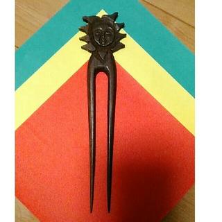 マライカ(MALAIKA)の木彫りかんざし(その他)