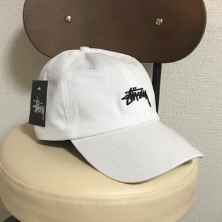 STUSSY - 新品 stussy キャップ 白