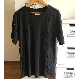 ナンバーナイン(NUMBER (N)INE)のTAKAHIRO MIYASHITA TheSoloist ダメージ加工Tシャツ(Tシャツ/カットソー(半袖/袖なし))