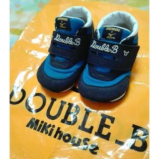 ダブルビー(DOUBLE.B)のミキハウスダブルB ◆スニーカー14.5センチ(スニーカー)