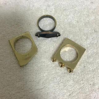 イオッセリアーニ(IOSSELLIANI)のイオッセリアーニのリングセット(リング(指輪))