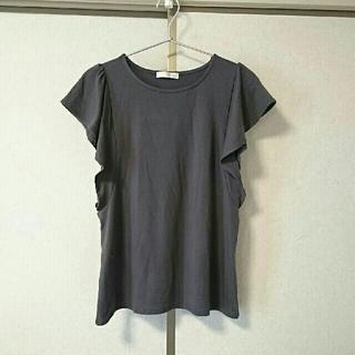 エージーバイアクアガール(AG by aquagirl)の半袖 カットソー グレー(カットソー(半袖/袖なし))