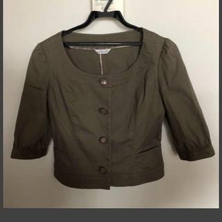 アンナルナ(ANNA LUNA)のサマージャケット(ノーカラージャケット)
