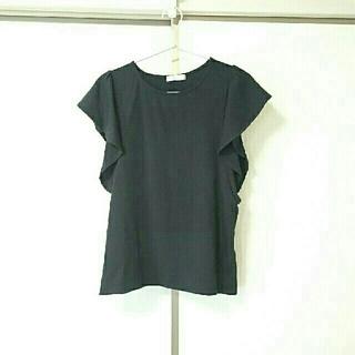 エージーバイアクアガール(AG by aquagirl)の半袖 カットソー 黒(カットソー(半袖/袖なし))