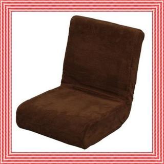 人気商品★送料無料★座り心地抜群☆ 座椅子 ブラウン(ローソファ/フロアソファ)