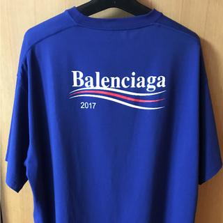 バレンシアガ(Balenciaga)のBALENCIAGA キャンペーンロゴ Tシャツ(Tシャツ/カットソー(半袖/袖なし))