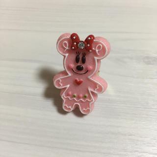 ディズニー(Disney)のミニー フリーサイズリング(リング(指輪))