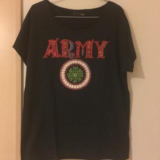 アールディーズ(aldies)のALDIES ARMY Tシャツ(Tシャツ(半袖/袖なし))