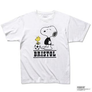 エフシーアールビー(F.C.R.B.)のLサイズ FCRB SNOOPY SUPPORTER TEE Tシャツ(Tシャツ/カットソー(半袖/袖なし))