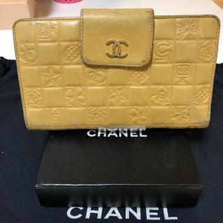 シャネル(CHANEL)の正規品 シャネル がま口 長財布(財布)