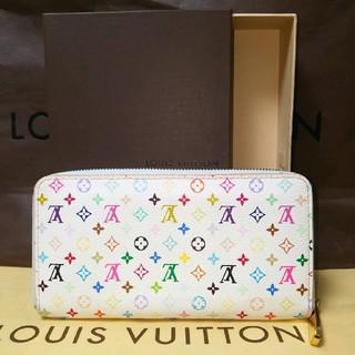 ルイヴィトン(LOUIS VUITTON)の極美品☆箱付き☆ルイヴィトンマルチカラージッピーウォレット(財布)