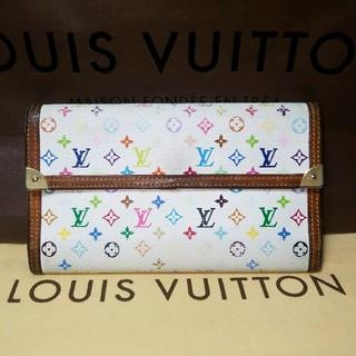 ルイヴィトン(LOUIS VUITTON)の美品☆ルイヴィトンマルチカラー長財布(財布)