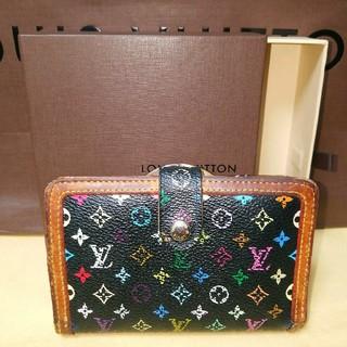 ルイヴィトン(LOUIS VUITTON)の美品☆箱付き☆ルイヴィトンマルチカラーがま口財布(財布)