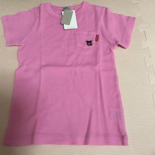 ダブルビー(DOUBLE.B)のダブルB ワッフルTシャツ 110(Tシャツ/カットソー)