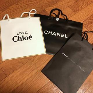 シャネル(CHANEL)のCHANEL Chloe MARC JACOBS ショッパー紙袋(ショップ袋)