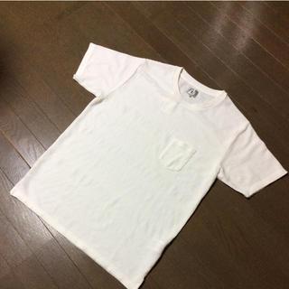 タケオキクチ(TAKEO KIKUCHI)の新品 タケオ  キクチ ポケ付きTシャツ XL   G-11(Tシャツ/カットソー(半袖/袖なし))