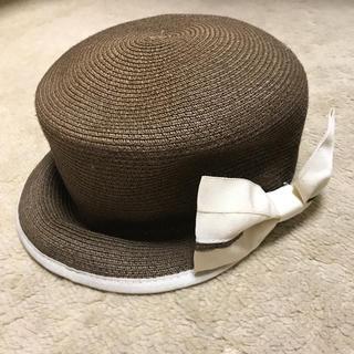 レディース リボン付き帽子(その他)