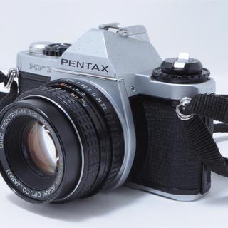 ペンタックス(PENTAX)のペンタックス MV1 一眼レフカメラ レンズセット(フィルムカメラ)