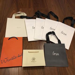ハッチ(HACCI)のブランド紙袋セット♡スキンケアブランド(ショップ袋)