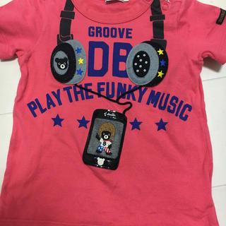 ダブルビー(DOUBLE.B)のミキハウス ダブルB 90 スマホ(Tシャツ/カットソー)