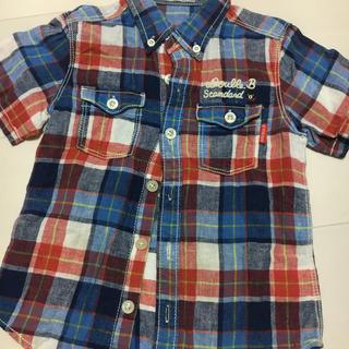 ダブルビー(DOUBLE.B)のダブルB 110 半袖 シャツ 美品(Tシャツ/カットソー)