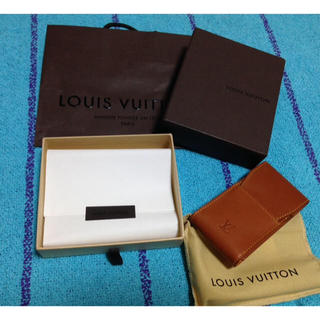 ルイヴィトン(LOUIS VUITTON)の新品 ルイヴィトン シガレットケース M85021 たばこケース ノマド 茶色(タバコグッズ)