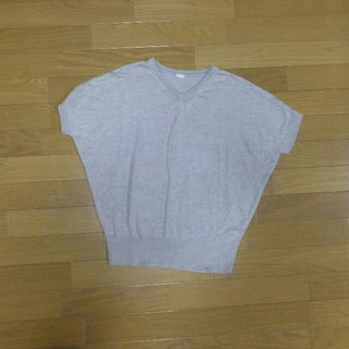 ジーユー(GU)のGU 半袖(ニット/セーター)