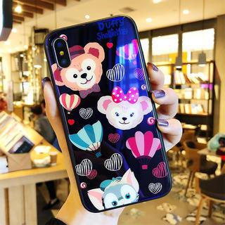 Disney - ダッフィー★シェリーメイ♡iPhoneケース 鏡面 iPhoneケース