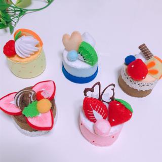 フェルトおままごと/ケーキセット(おもちゃ/雑貨)