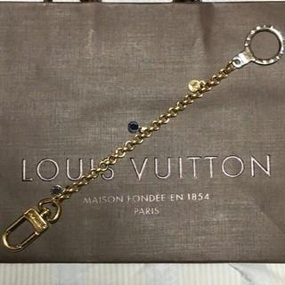 ルイヴィトン(LOUIS VUITTON)の超美品☆LOUIS VUITTON☆稀少なゴールド&シルバーキーチェーン!(キーホルダー)