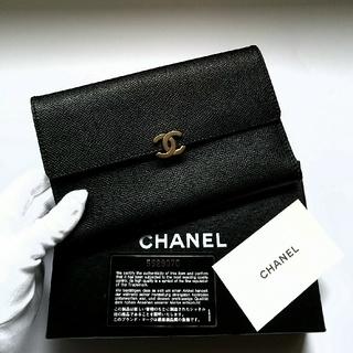 シャネル(CHANEL)の♦シャネル♦美品・正規品♦ココクリップ/三つ折り長財布(財布)