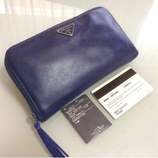 プラダ(PRADA)のPRADA ラウンドファスナー 長財布 正規品(財布)