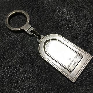 ルイヴィトン(LOUIS VUITTON)のとても素敵!☆LOUIS VUITTON☆シルバーカラーで合わせやすいキーリング(キーホルダー)