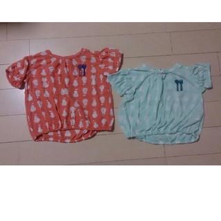 プチジャム(Petit jam)のPetit jamプチジャムのTシャツ、カットソー 95  姉妹でお揃いも(Tシャツ/カットソー)