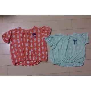 プチジャム(Petit jam)のPetit jamプチジャムのTシャツ、カットソー  80  姉妹 お揃いも。(シャツ/カットソー)