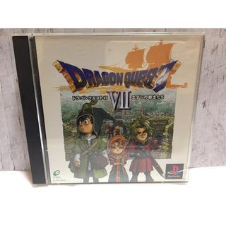 プレイステーション(PlayStation)のPlayStation ドラゴンクエスト7 エデンの戦士たち(家庭用ゲームソフト)