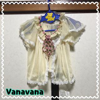 バナバナ(VANA VANA)のVanavana♡シースルーカーディガン(カーディガン/ボレロ)