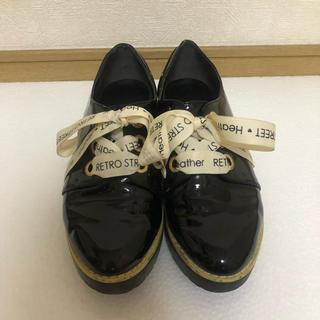 ヘザー(heather)の★heather★ エナメルマニッシュシューズ★(ローファー/革靴)