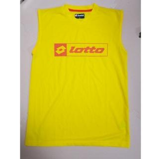 ロット(lotto)のロット インナー 黄色 L サッカー(タンクトップ)