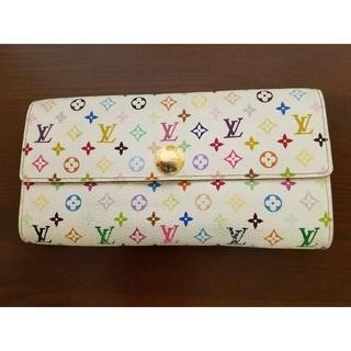 ルイヴィトン(LOUIS VUITTON)のヴィトンマルチカラー長財布(財布)