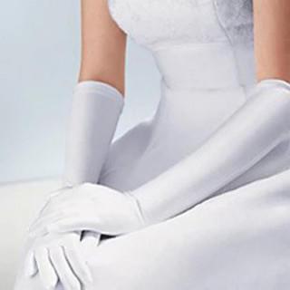 新品*ウエディンググローブ【ロングタイプ】白(手袋)