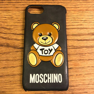 モスキーノ(MOSCHINO)のモスキーノ MOSCHINO iPhoneケース iPhone7 iPhone8(iPhoneケース)