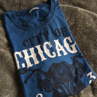GU - GU Tシャツ バッファロー プリントTシャツ 半袖