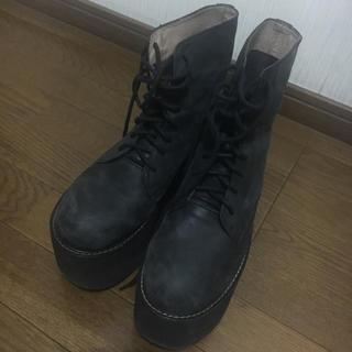 ジェフリーキャンベル(JEFFREY CAMPBELL)のJeffrey Campbell 厚底 ブーツ(ブーツ)