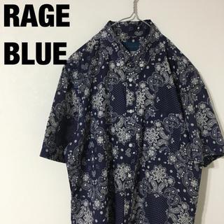 レイジブルー(RAGEBLUE)のRAGE BLUE レイジブルー 総柄 ペイズリーシャツ(シャツ)