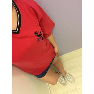 ステューシー(STUSSY)の値下げ交渉あり‼️オールドステューシー 90s ビッグロゴ刺繍 Tシャツ(Tシャツ/カットソー(半袖/袖なし))