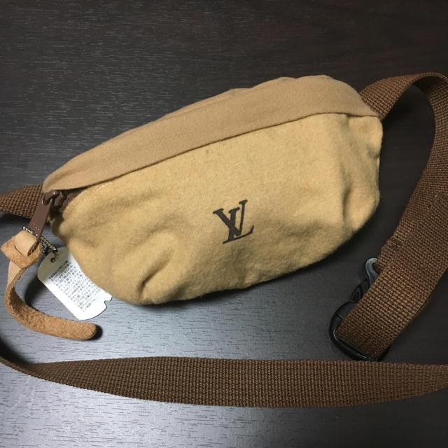 1LDK SELECT(ワンエルディーケーセレクト)のGILET 新品 ウエストポーチ 完売品 1LDK ヴィトン サコッシュ メンズのファッション小物(その他)の商品写真