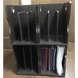 ほぼ未使用 ☆ 木製の本棚 ☆ 1個から購入可能です。とても高品質、重厚  ❣️(本収納)