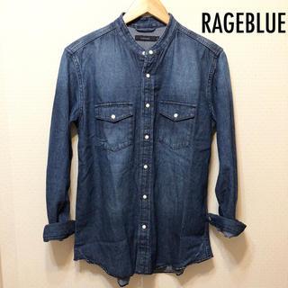 レイジブルー(RAGEBLUE)のRAGEBLUEデニムシャツ送料込(シャツ)